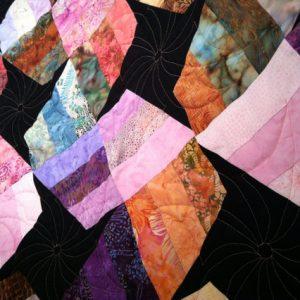 Batik Cotton Quilt