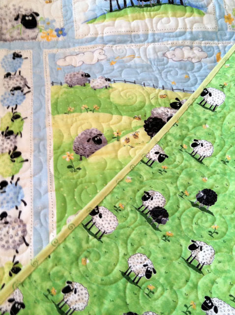 Baby Quilt Willowlark