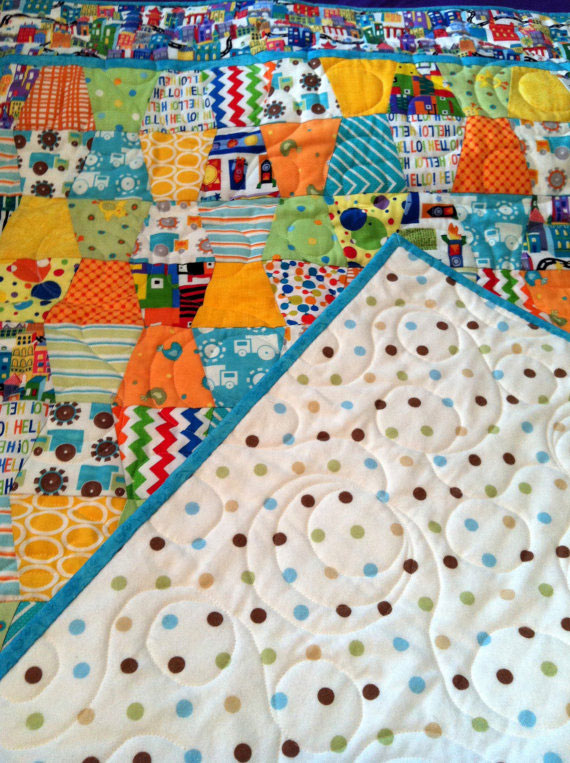 Baby Tumbler Quilt 2 Willowlark