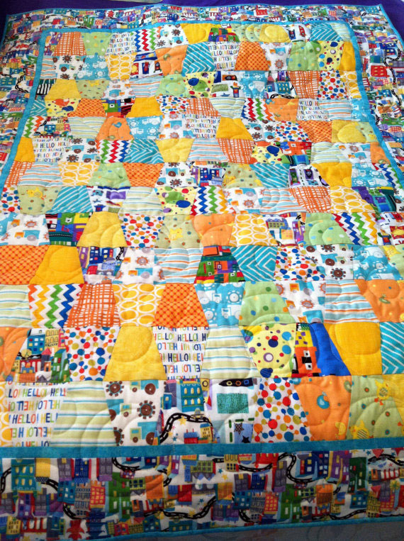 Baby Tumbler Quilt 3 Willowlark