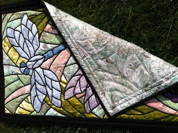 Dragonfly Art Quilt Willowlark