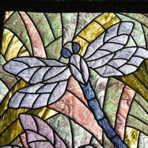Dragonfly Art Quilt 2 Willowlark