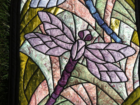 Dragonfly Art Quilt 3 Willowlark