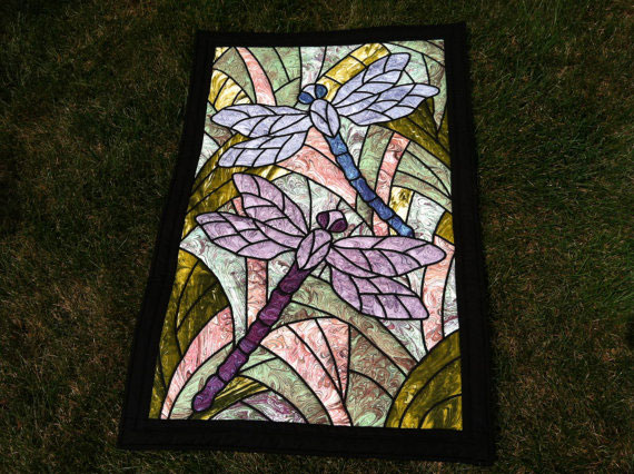 Dragonfly Art Quilt 4 Willowlark