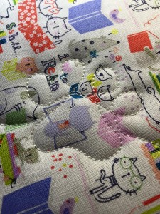 paw print quilting